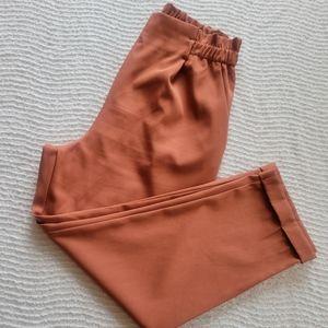 Sienna Sky Paper Bag Waist Cropped Pants